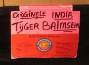 Tiger balm sign