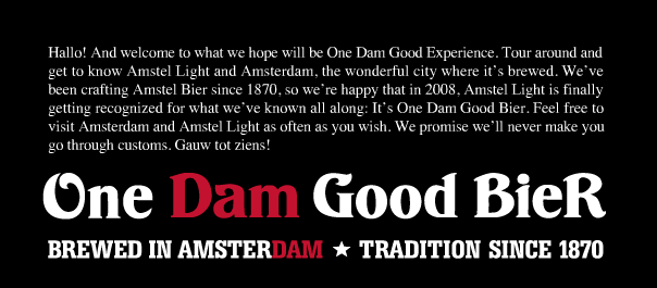 Dam beer
